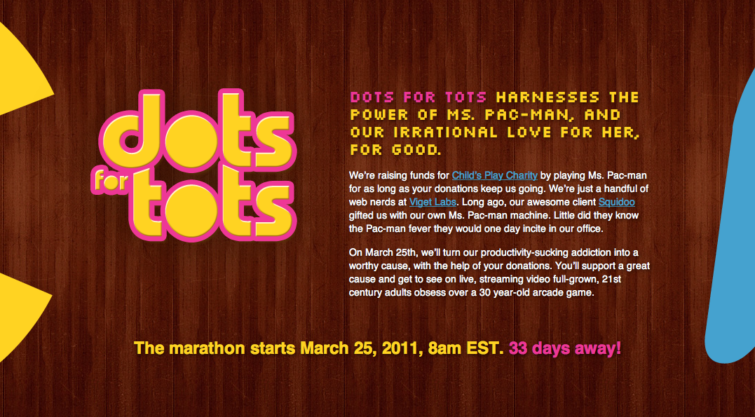Dots for Tots